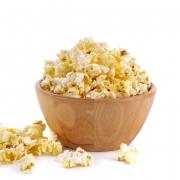Popcorn mit Safran Butter